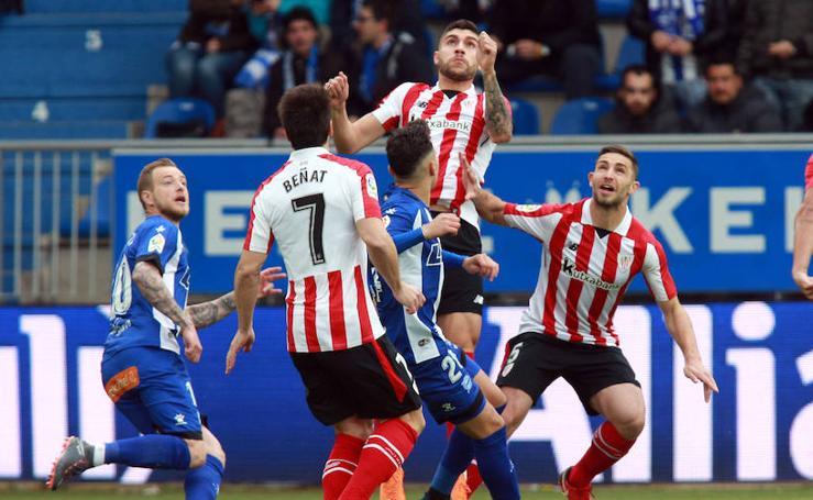 Alavés-Athletic, en imágenes