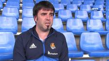 Aitor Zulaika: «El Sanse llega en buen momento al play off»