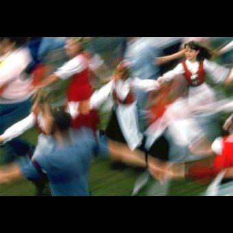 Fiestas de San Isidro en Aratz Erreka en Azpeitia