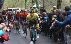 Roglic: «Ganar en Euskadi es un paso importante para el futuro»