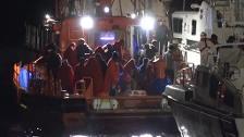 Dos pateras con 104 personas a bordo han sido rescatadas en Fuengirola y Mar de Alborán