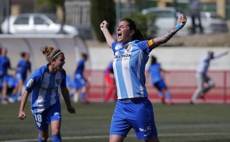 Las mejores imágenes de la victoria del Málaga ante el Femarguín