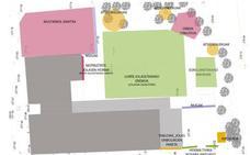 La renovación del patio del colegio de Orduña será a finales de mes