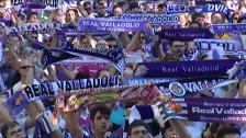 Valladolid sale a la calle para celebrar su regreso a Primera División