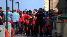 1300 migrantes han llegado a territorio español este fin de semana