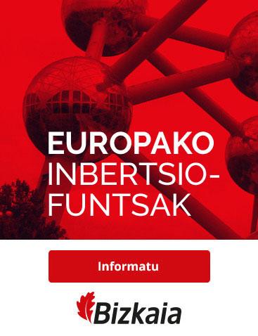 Europako Inbertsio-Funtsak. Informatu