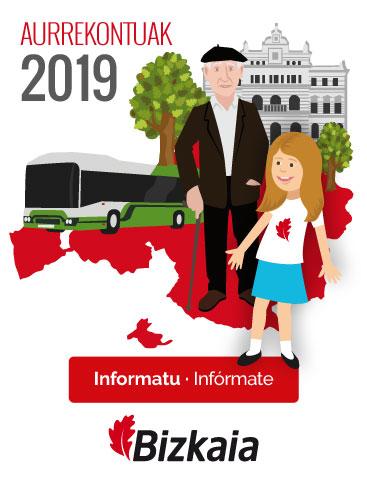 Aurrekontuak 2019; Informatu