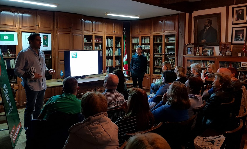 'Una mirada sobre Euskadi' hitzaldia