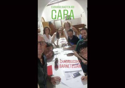 2019ko Udako Barnetegia Chacabuco herriko Guillermo Larregui Euskal Etxean ari da egiten joan den asteburutik (arg. Valeria Garcia Oyarzabal)