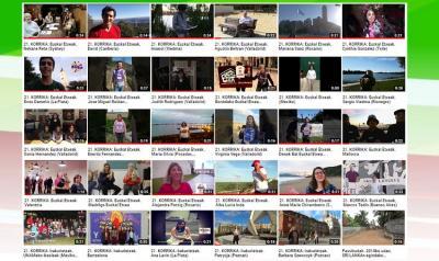 Imágenes de algunos de los videos que participan en el certamen
