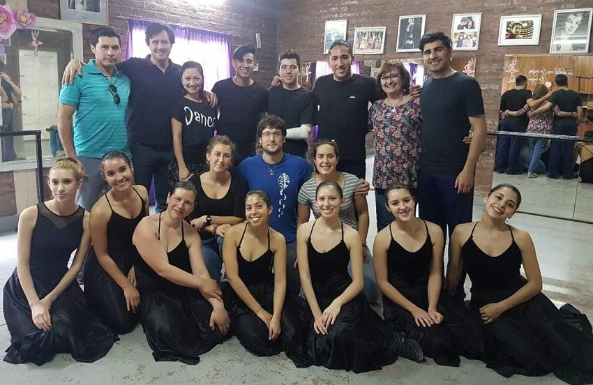 Argentinako eta Euskal Herriko dantzariak