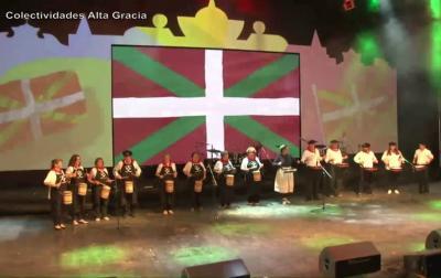 Villa Mariako danbor jotzaileak 2019ko 'Todo el mundo en Alta Gracia' Jaialdian, Argentinako Alta Gracia hirian