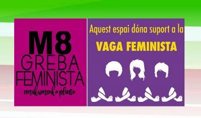 Valentziako Euskaltzaleok Greba Feministaren alde