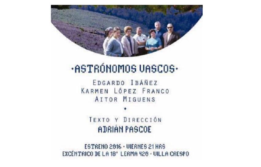 'Astronomos Vascos' antzezlana
