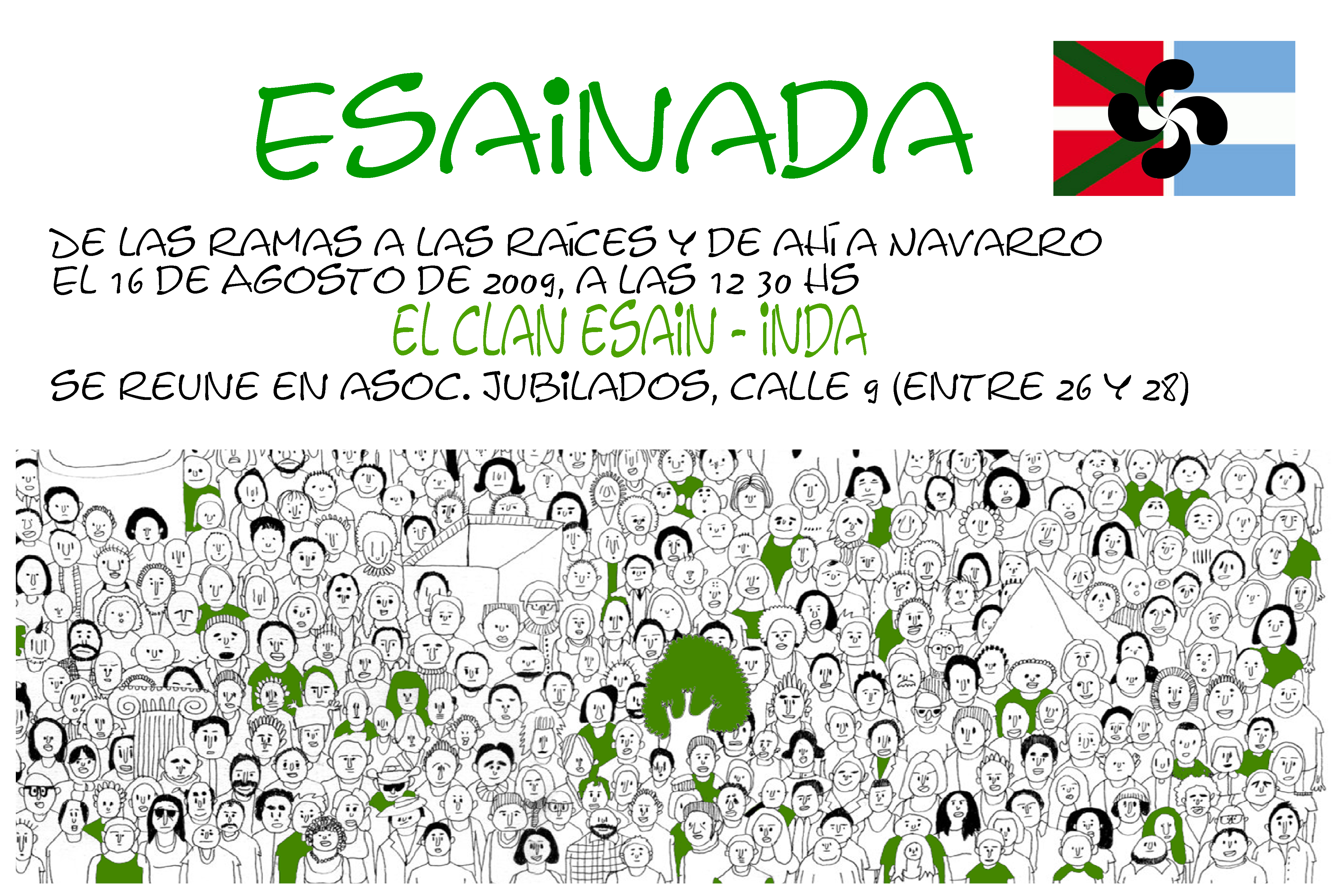 Esainada: Esain-Inda familiaren bilkura Argentinan
