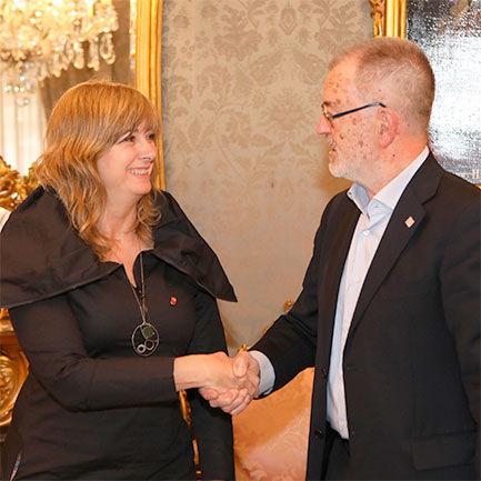 Eusko Ikaskuntza y el Gobierno de Navarra renuevan el convenio de colaboración