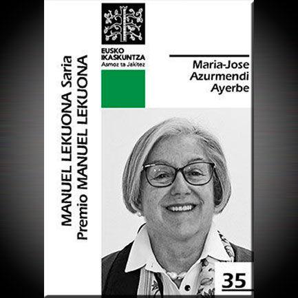 Número 35 de la colección Premio Manuel Lekuona