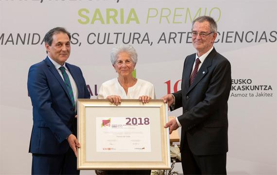 Eusko Ikaskuntza-Laboral Kutxaren Humanitate, Kultura, Arteak eta Gizarte Zientzien Saria