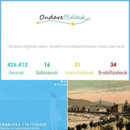 Ondarebideak, recorridos virtuales a través de la cultura vasca